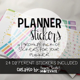 Teacher Planner {Stickers} (Growing Pack)