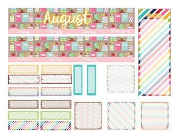 Teacher Planner Stickers-Monthly Layouts for Erin Condren