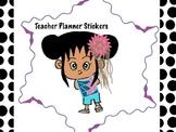 Teacher Planner Stickers.  Copy on Sticky Paper