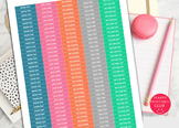 Teacher Planner Stickers-Snow Day Stickers-Late Day Sticke
