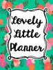 Teacher Planner: Tropical Floral (Editable)