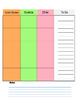 Teacher Planner: Weekly Calendar