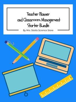 Teacher Planner and Classroom Management Starter Bundle