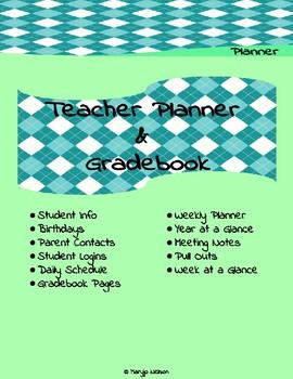 Teacher Planner and Gradebook