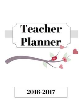 Teacher Planner and Organizer - Gray