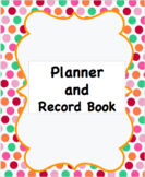 Teacher Planner and Record Book
