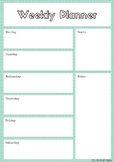 Teacher Planner and Reflection
