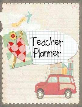 Teacher Planner {august - july}