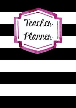 Teacher Planner covers 6 in 1
