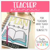Teacher Planner: for Middle School, Secondary and Departmentalized Teachers