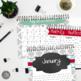 Teacher Binder Planner Calendar, Secondary Teacher with Th