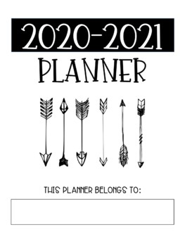 Teacher Planner - free updates every year!