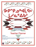 Teacher Planner in the Cree Language