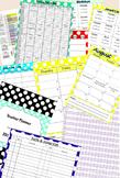 2016-17 Teacher Planner or Organizational Binder