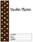 Teacher Planner/Calendar
