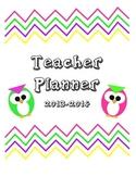 Owl Teacher Planner/Organizer Covers