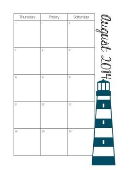 Teacher Planner/Organizer/Calendar