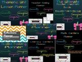 Teacher Planners Bundle *10 Teacher Organization Planners*