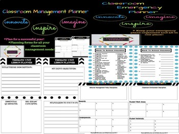 Teacher Planners Bundle *10 Teacher Organization Planners*