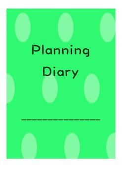 Teacher Planning Diary - Polka Dots