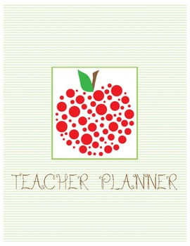 Teacher Planning Pages - Middle and High School, Block Schedule