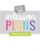 Teacher Planning Pages - Make Your Own Teacher Plan Book