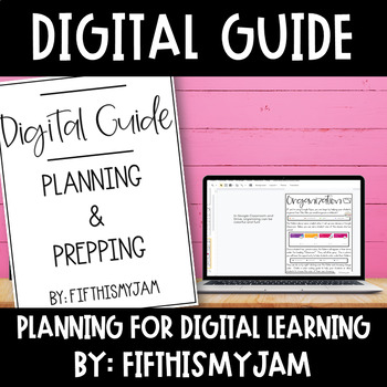 Teacher Planning Tool for Digital Organization