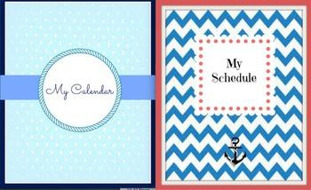 Teacher Planning and Organizing Binder Packet