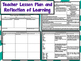 Teacher Planning and Reflection Tools