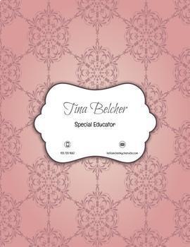 Teacher Portfolio - Editable Template