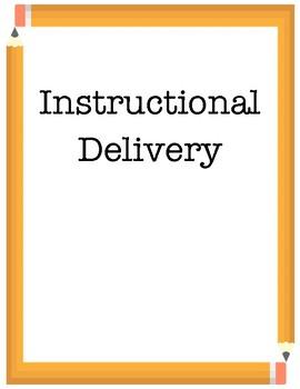 Teacher Portfolio Headings