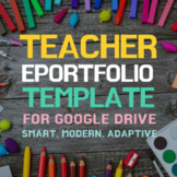 Teacher Portfolio Website Template