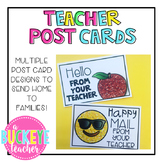 Teacher Post Cards