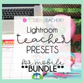 50% off Limited Time Teacher Presets BUNDLE | Teacher and