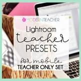 Teacher Presets | Teacher-Specific Set Only