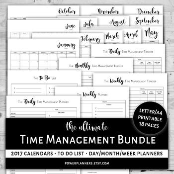 Teacher Productivity Planner