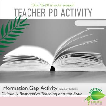 Teacher Professional Development Culturally Responsive Teaching and the  Brain