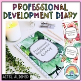 Teacher Professional Development Diary - AITSL Aligned Australia