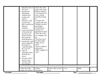 Teacher Program Plan (Social Studies)