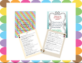 Teacher Questionnaire/Cuestionario de la maestra(o)