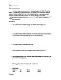 Teacher Questionnaire for IEP