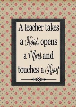 Teacher Quote Art