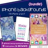 Teacher Quote iPhone Backgrounds {growing bundle}