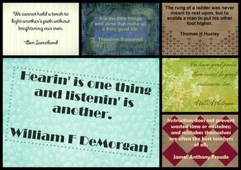 Teacher Quotes Set 4