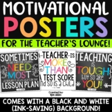 Teacher Quotes and Motivational Posters Classroom Decor
