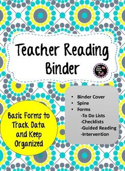 Teacher's Reading Binder