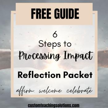 Teacher Reflection: Healthy Emotional Processing