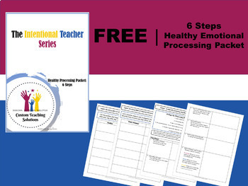 Teacher Reflection: Healthy Emotional Processing