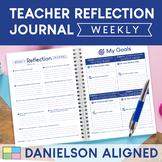 Teacher Reflection Journal aligned to Danielson Framework