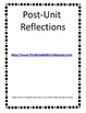 Teacher Reflection for Units/Lessons